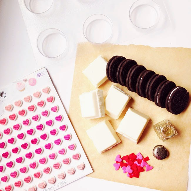 Dipped Oreos For Baby Shower Part - 39: And Hereu0027s The Thing - These Cookies Go BEYOND Valentineu0027s Day. I Can  Totally See These On Dessert Tables For Weddings, Baby Showers, Birthdays,  Etc!