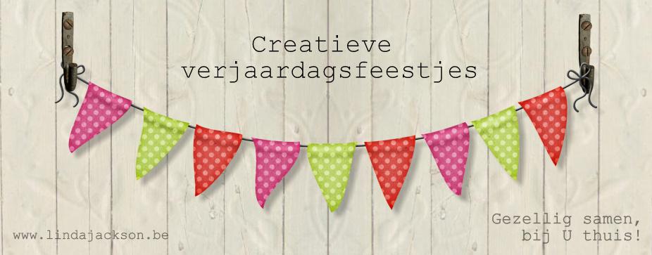 ...  Creatieve            <p>                     .......          Verjaardagsfeestjes </p>