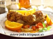 Kurča s pomarančmi - recept