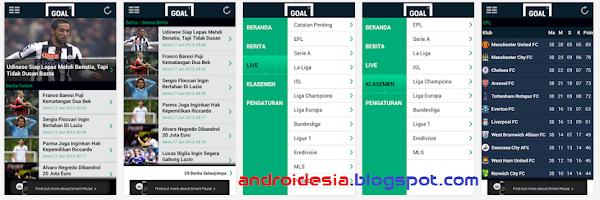 Goal - Aplikasi Berita Sepak Bola terupdate