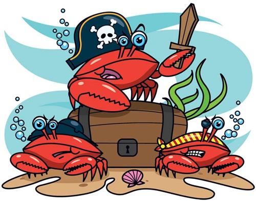 sea fare armada cooks pirate or crab