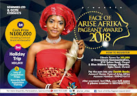 FACE OF ARISE AFRICA PAGEANT
