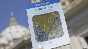 A versão em .pdf da Encíclica pode ser baixado aqui:  http://w2.vatican.va/content/dam/francesco/pdf/encyclicals/documents/papa-francesco_20150524_enciclica-laudato-si_po.pdf