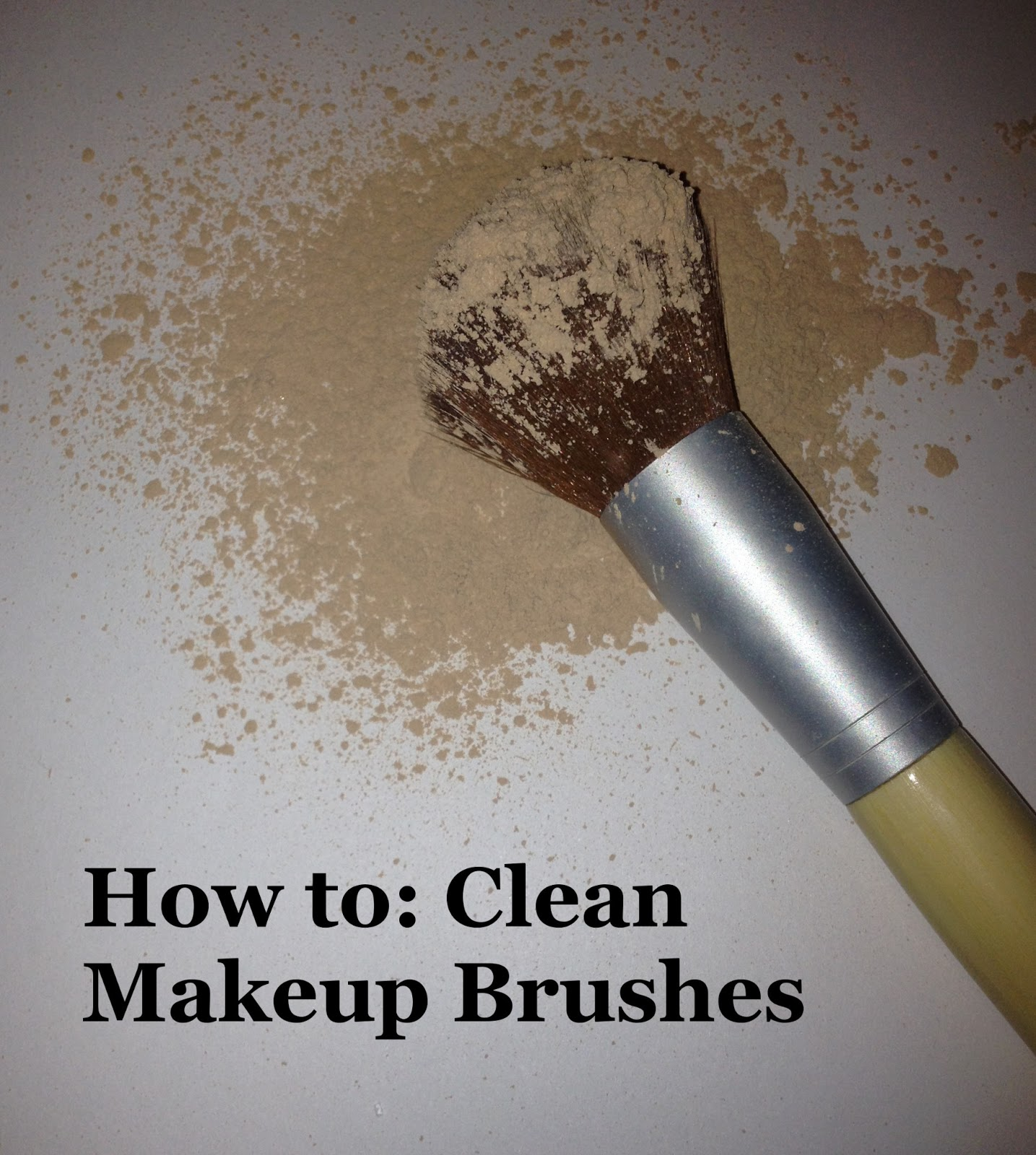 How to sanitize makeup brushes