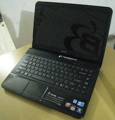 jual laptop gaming 2nd sony vaio e-series