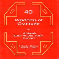 40 Wisdom's ofGradtitude
