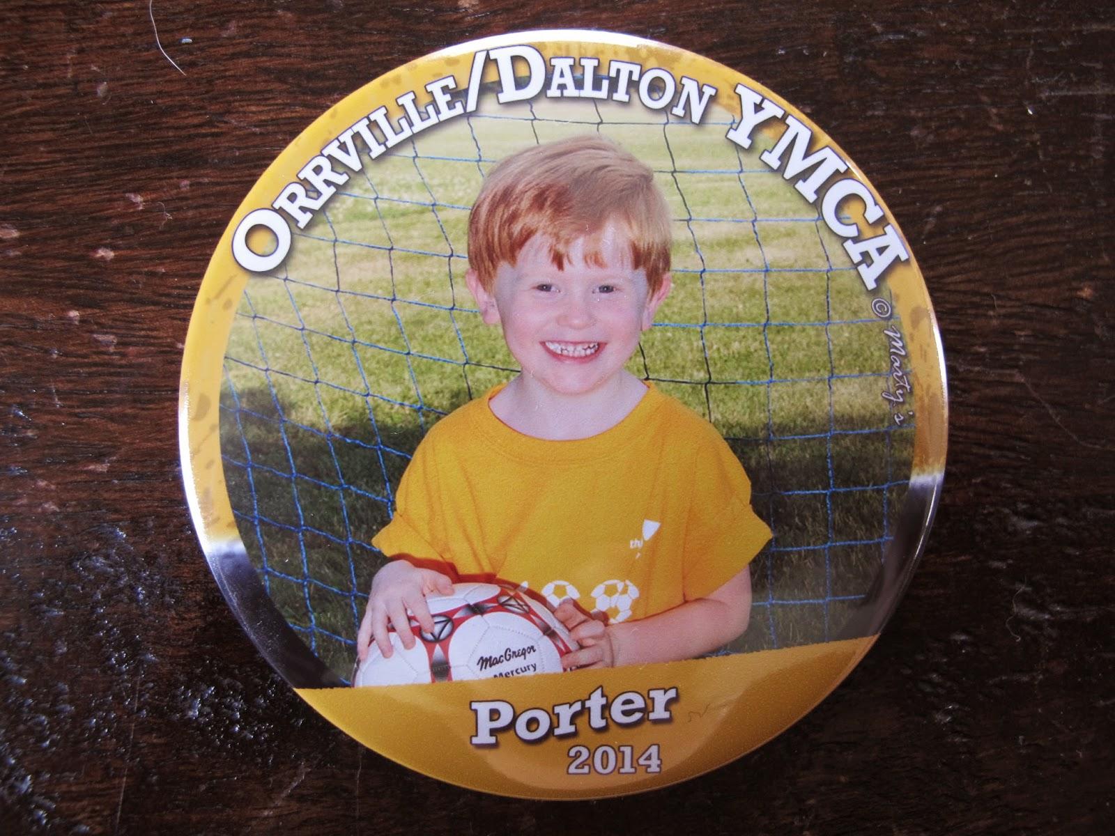 Porter's Soccer Pin