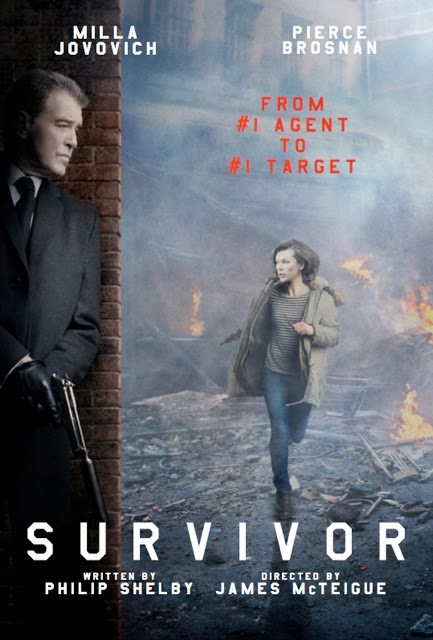 Survivor Movie starring Milla Jovovich and Pierce Brosnan ...