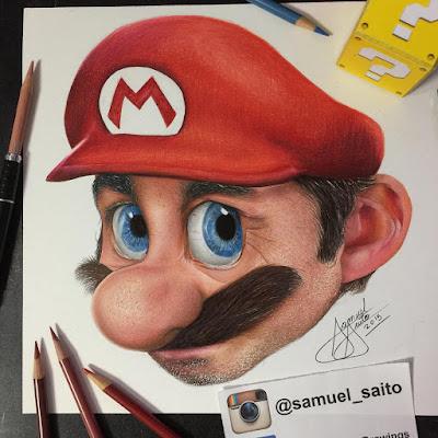 Las increíbles ilustraciones de Samuel Saito - Portada