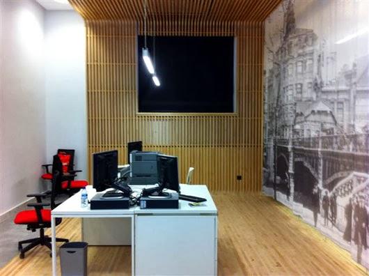 Marzua el dise o vasco viste la nueva oficina de turismo for Oficinas turismo bilbao