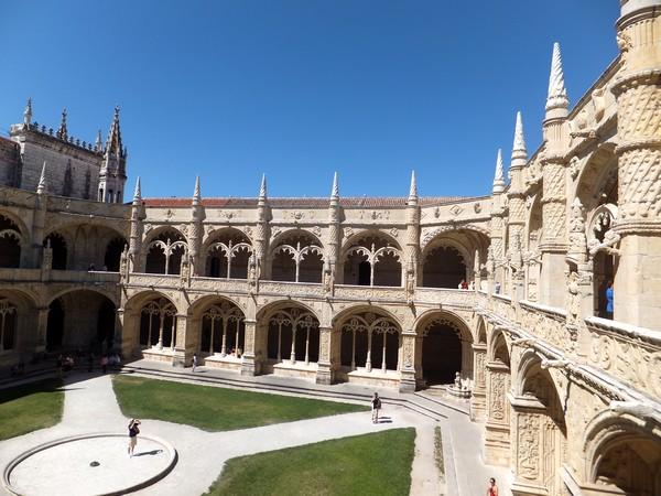Lisbonne Lisboa Belém monastère jeronimos