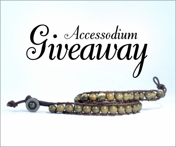 Jewelry Giveaway: Leather Wrap Bracelet by Accessodium