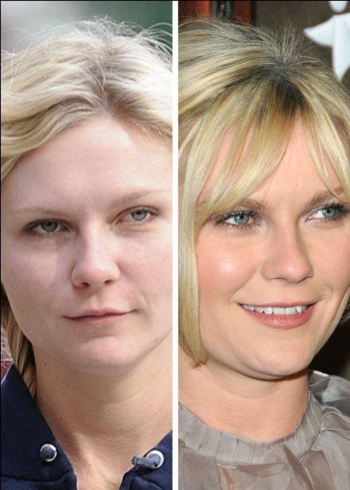 Kristen Dunst sans maquillage