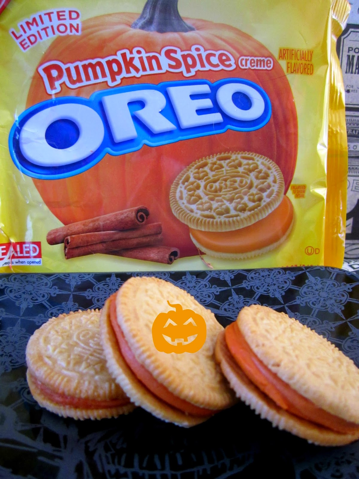 Pumpkin Oreo
