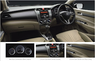 Photo: New facelift Honda City Interior Dashboard