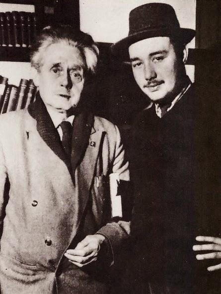 Alan Bold and Hugh MacDiarmid