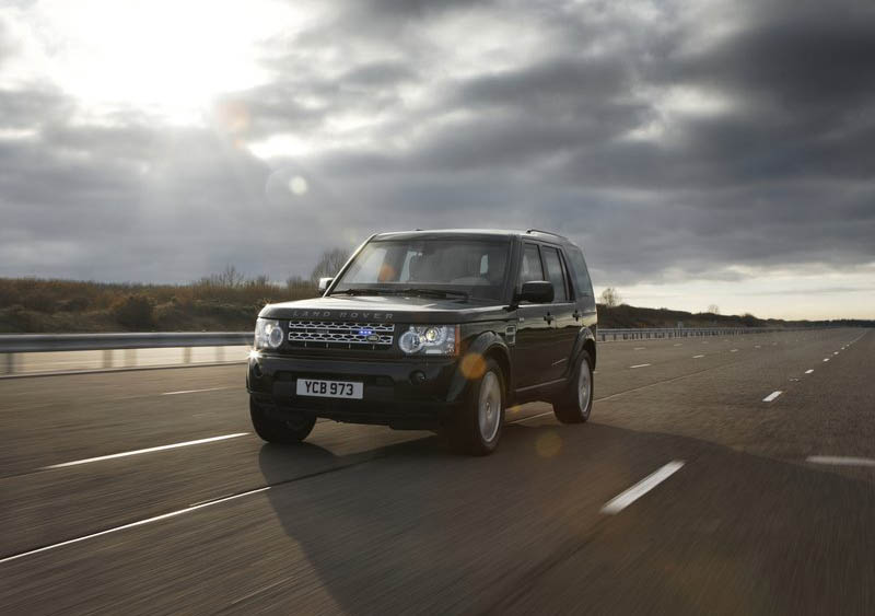 Land Rover Discovery 4 Armoured 2011 Top Gear