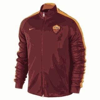 jaket bola as roma, grade ori, tempat jual jaket bola as roma, harga murah, terpercaya, toko online, jersey, away, third, ready