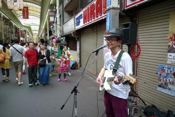 三条会商店街七夕祭りライブ5