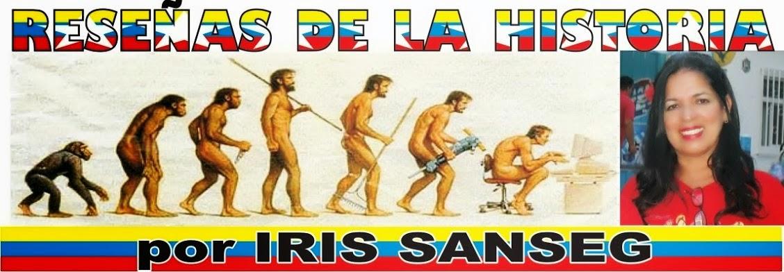 HACER CLICK PARA IR AL BLOG RESEÑAS DE LA HISTORIA DE IRIS SANSEG