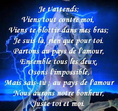 Rencontre d 39 amour texte - Poeme d amour a imprimer ...