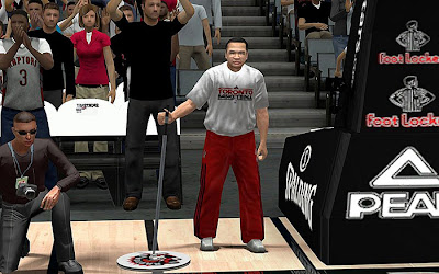 NBA 2K13 Toronto Raptors Sideline Characters Fix