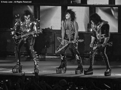 kiss at the secc in glasgow 2010