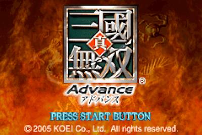 【GBA】真三國無雙ADVANCE+攻略流程+金手指+Rom下載,
