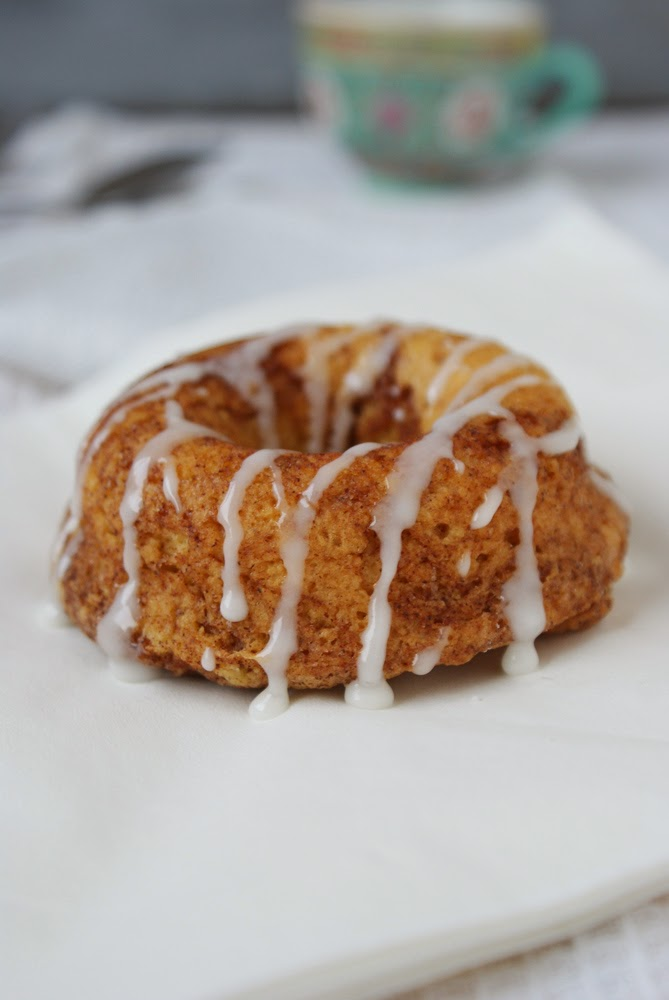 Cinnamon Bun Donut
