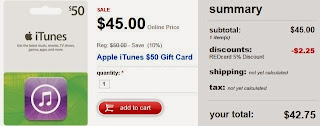 Target iTunes Gift Card Apple