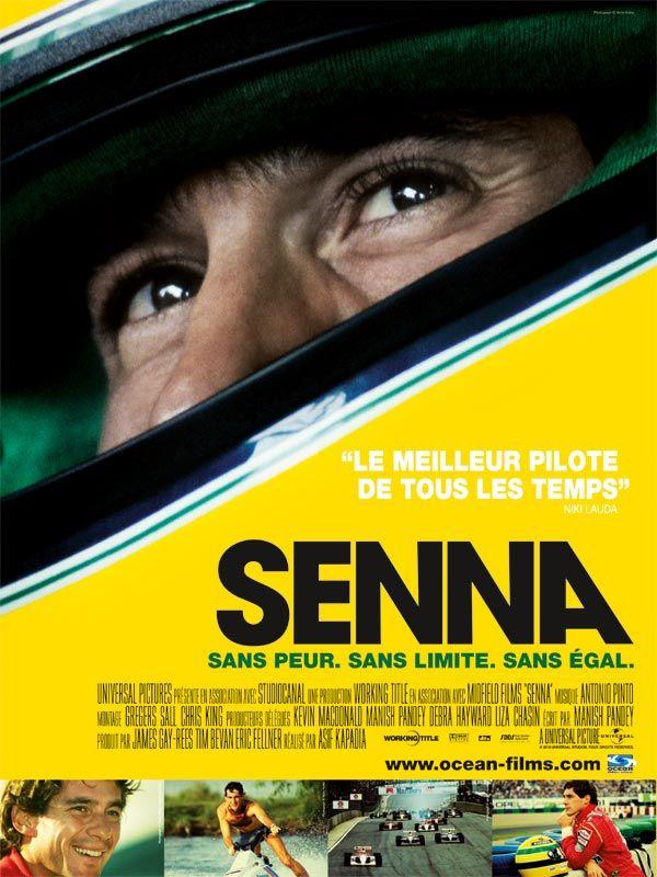 Affiche Film Senna
