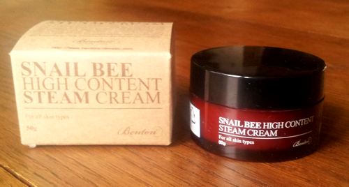snail bee high content steam cream benton