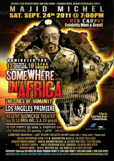 Majid Micheal heads to Hollywood in September with 'Somewhere in Africa' 1