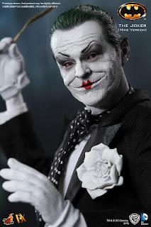"Hot Toys Batman 1989 1/6 Scale Joker 12"" Figure (Mime Version)"