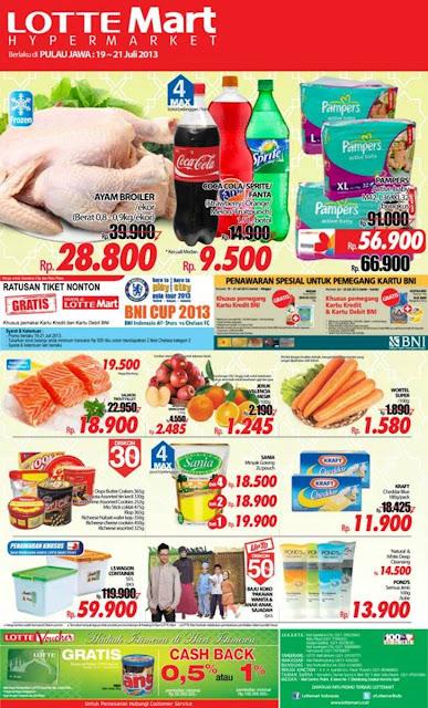 Lottemart Weekend Promo Terbaru Periode 19-21 Juli 2013