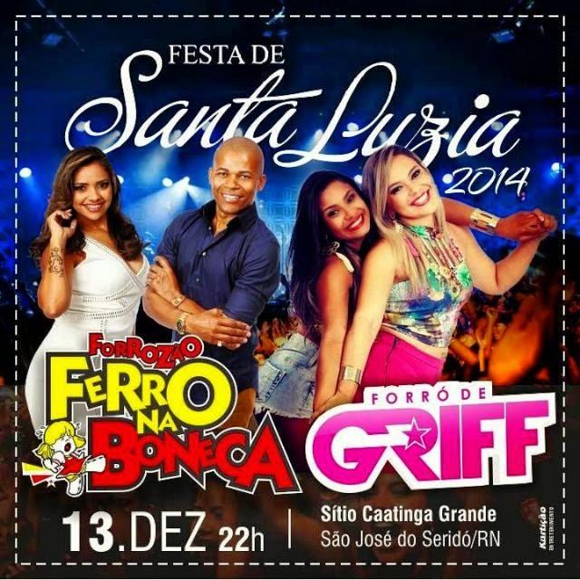 Festa de Santa Luzia na Comunidade Caatinga Grande Municipio de São José do Seridó