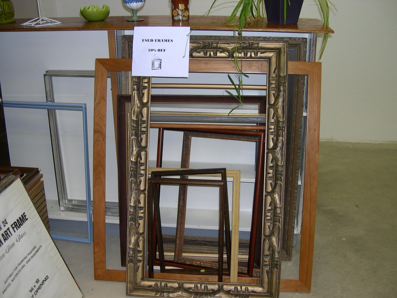 Ye Olde Art Shoppe: Frame Sale