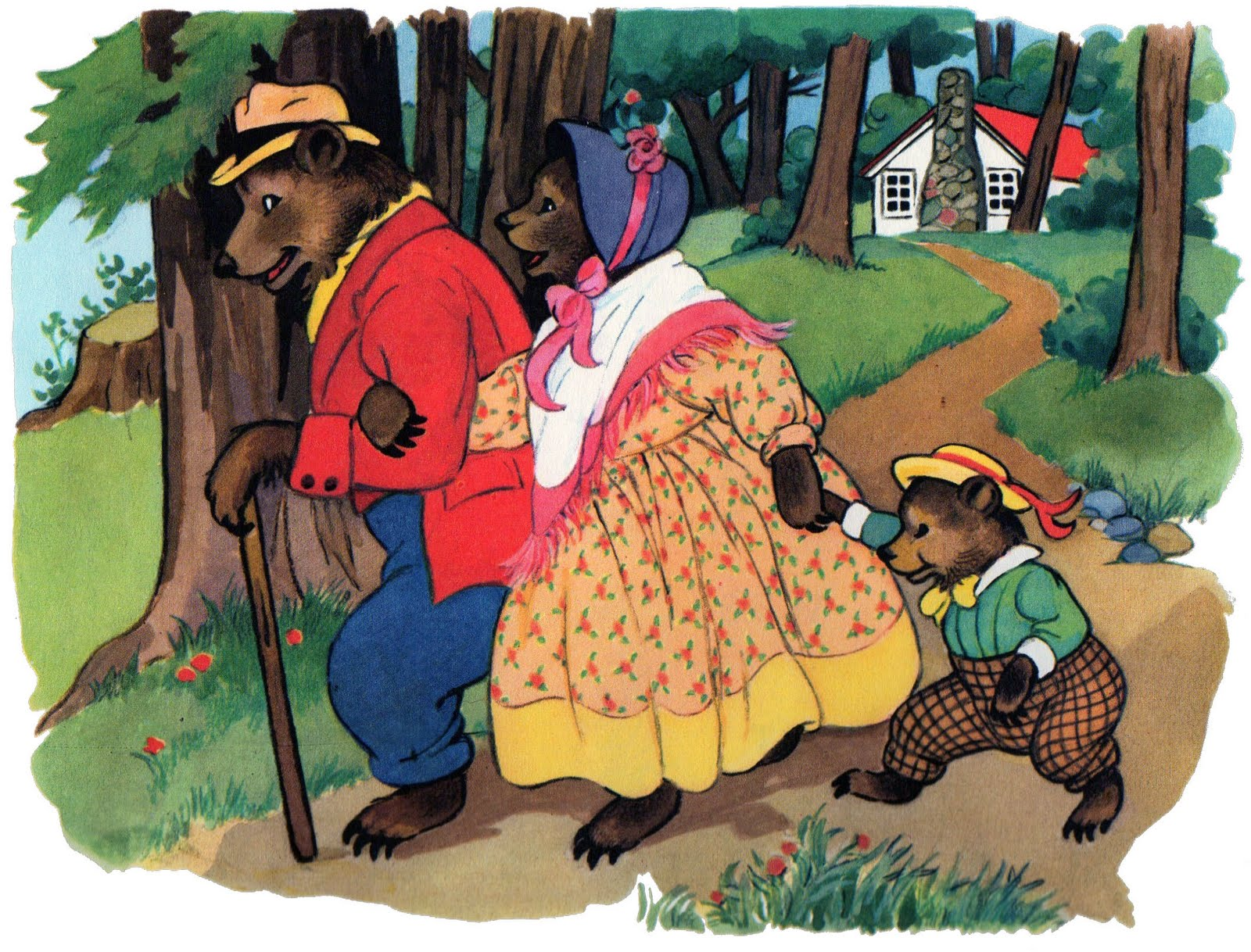 Uncategorized Three Little Bear googoogallery obscure scan sunday the story of goldilocks and for now lets focus on an old favorite all about a little messy blonde girl three very hungry bears