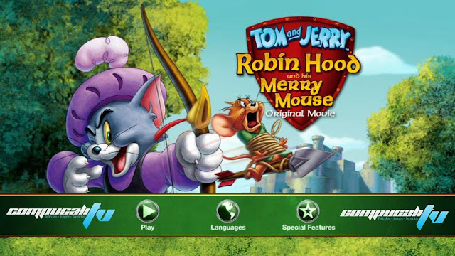 Tom And Jerry Robin Hood Merry Mouse DVDR NTSC Español Latino Menu 2012