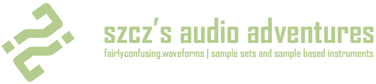 szcz's audio adventures