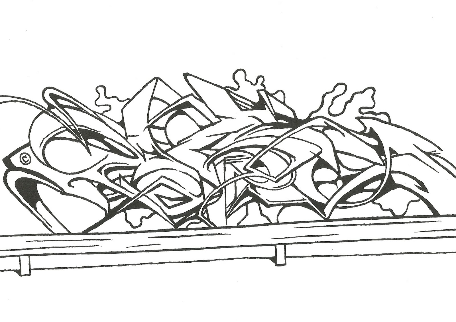 Urban Street Art Coloring Pages Coloring Pages