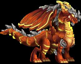 imagen del dragon explosivo de dragon city