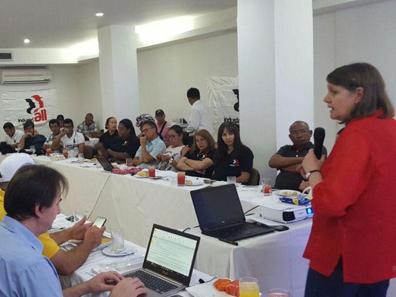 IndustriAll comprometido con la construcción de paz en Colombia