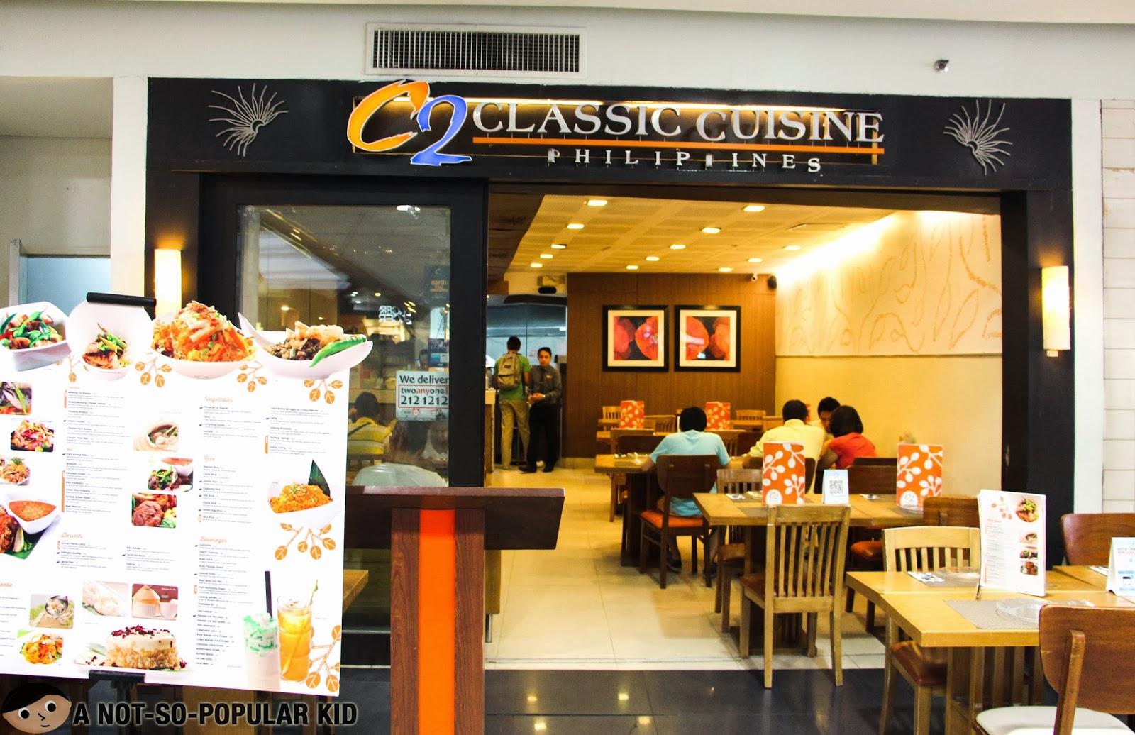 C2 Classic Cuisine in Robinsons Midtown, Ermita, Manila