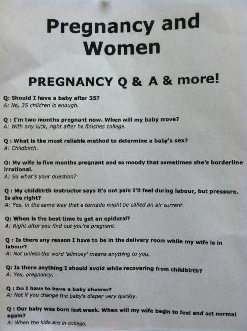 best pregnancy faq ever, funny, funny picture, troll, win, pregnancy faq, funny pregnancy faq