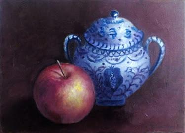 Azucarero granadino y manzana (4F)