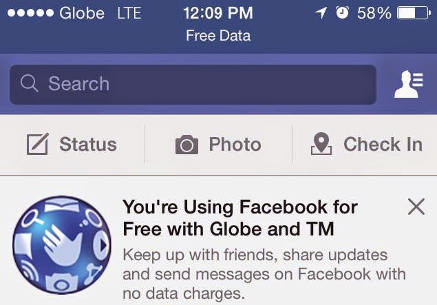 Free Facebook Is Back For Globe and TM Subscribers