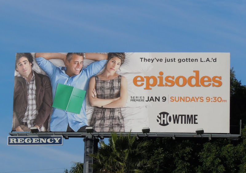 Matt LeBlanc Episodes TV billboard
