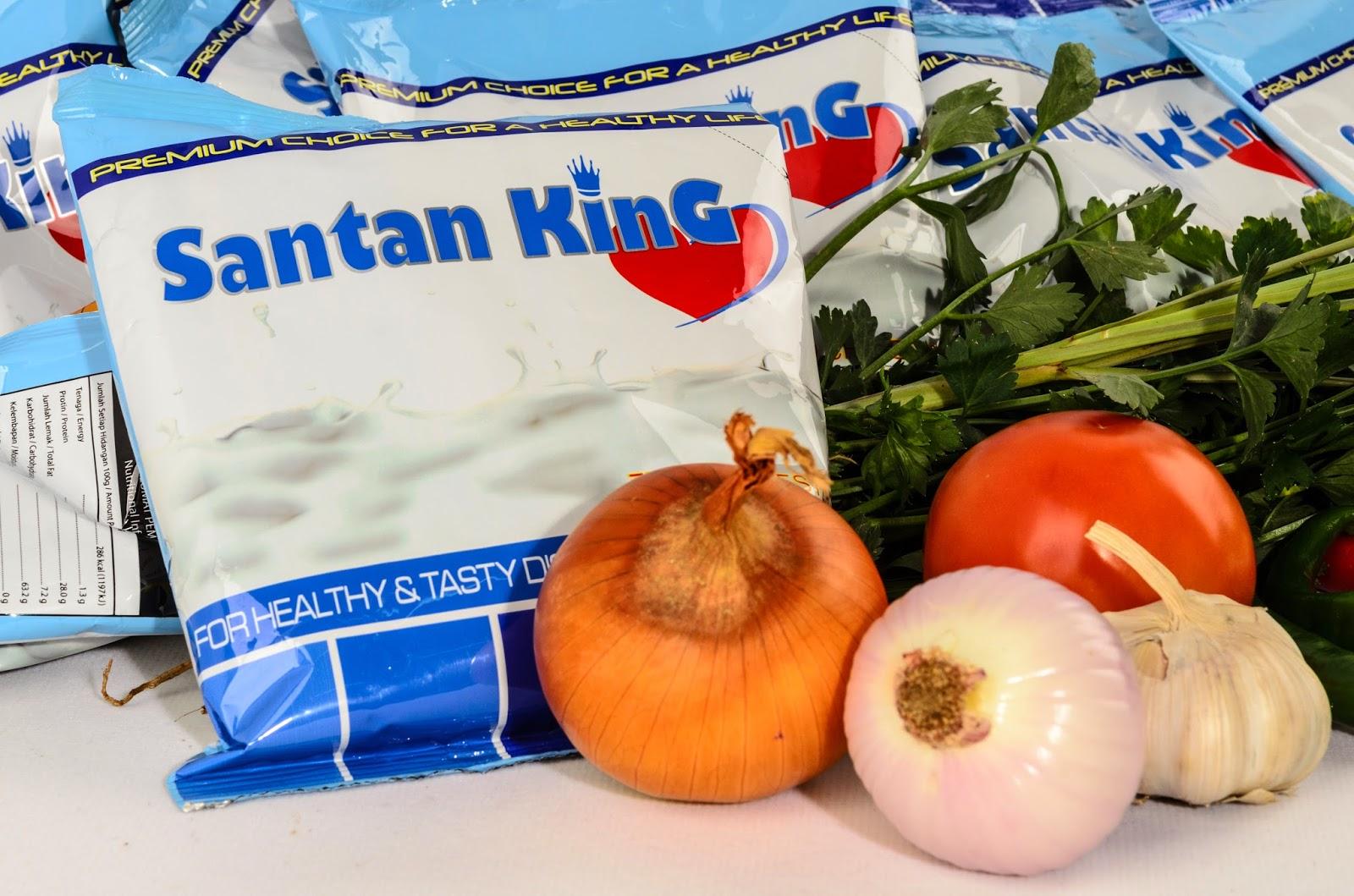 Masaklah dengan Santan King tiada Kolestrol