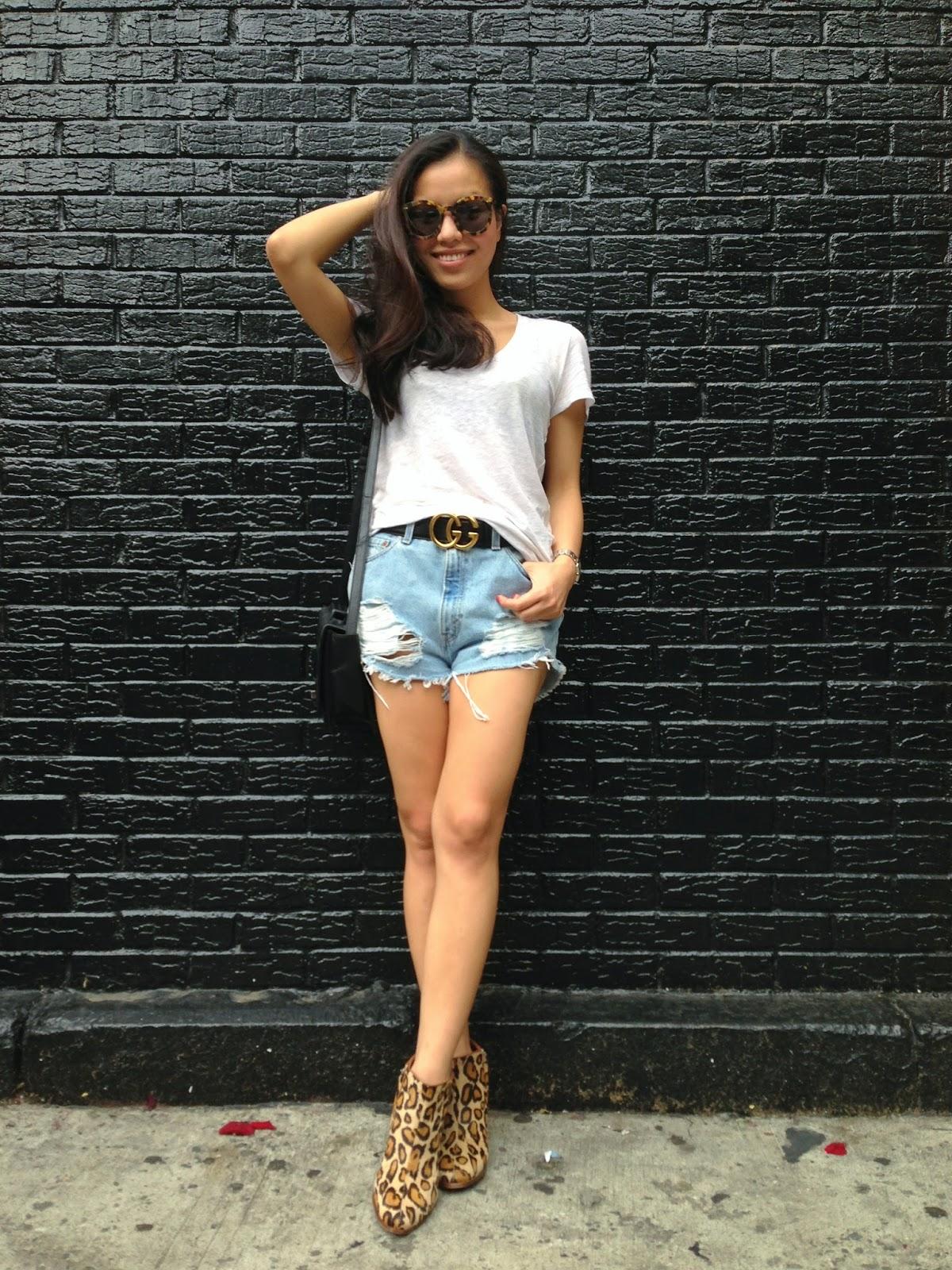 Leah♥穿搭: 夏天就是要這樣穿 ...